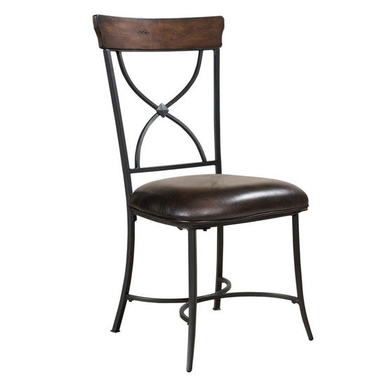 Hillsdale Furniture Cameron X-Back Dining Chair, Set of 2