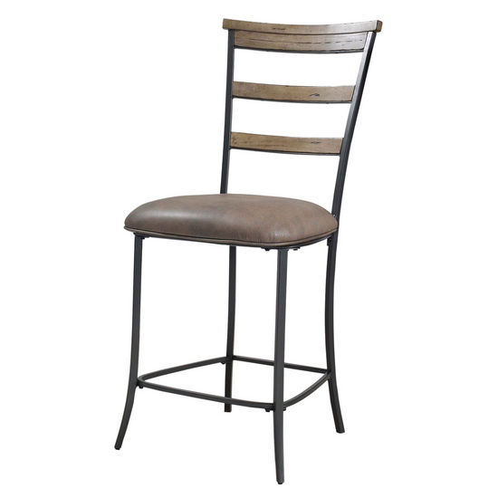 Hillsdale Furniture Charleston Ladder Back Non-Swivel Stools, Set of 2