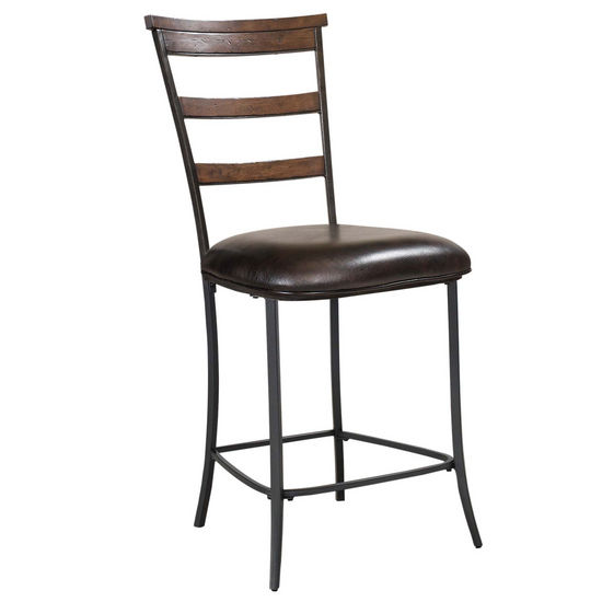 Hillsdale Furniture Cameron Ladder Back Non-Swivel Stools, Set of 2