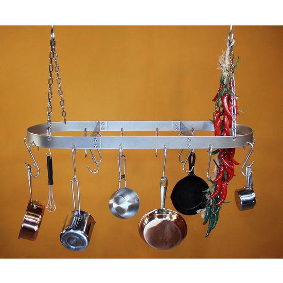 Hanging Pot Rack Lpl30 Series Stainless Steel Oval Pot