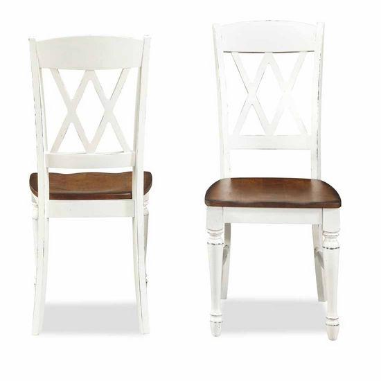 Monarch White Oak 7 Piece Dining Set: Home Styles Monarch Rectangular Dining Set With Dining