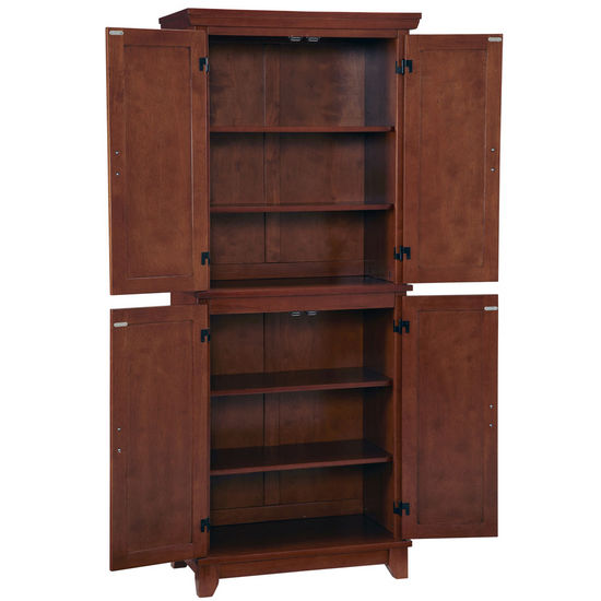 Organize Your Kitchen With The Home Styles Arts Crafts Pantry In A Warm Cottage Oak Finish