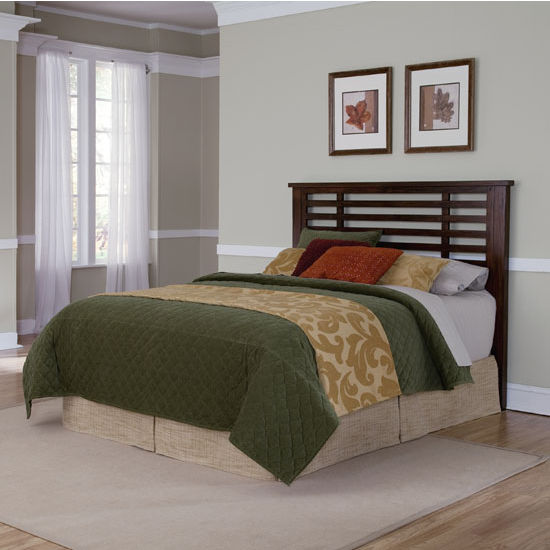 Home Styles Cabin Creek Queen/Full Headboard, Chestnut