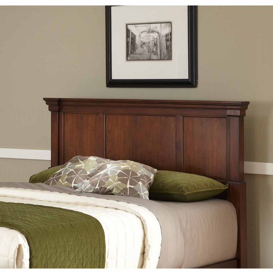 Home Styles The Aspen Collection Queen/Full Headboard, Rustic Cherry