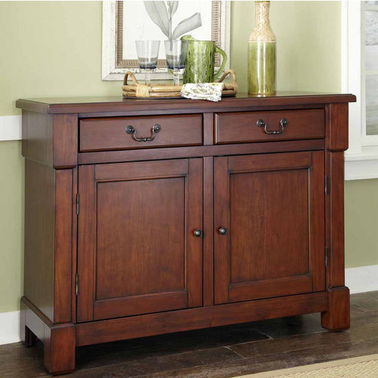 Home Styles The Aspen Collection Buffet, Rustic Cherry