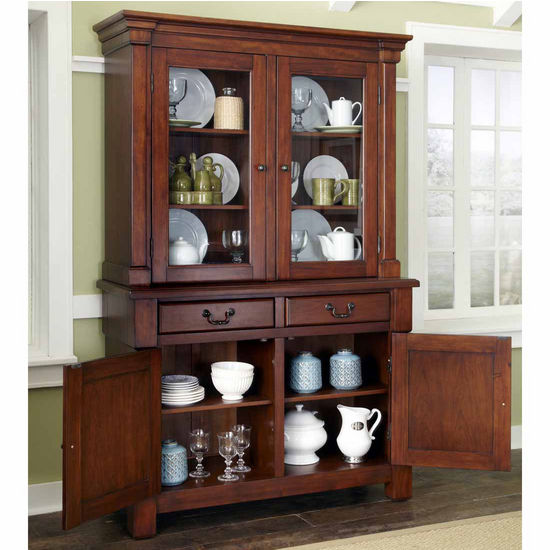 Home Styles The Aspen Collection Buffet And Hutch Rustic
