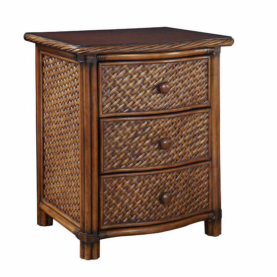 Home Styles Marco Island Night Stand, Cinnamon