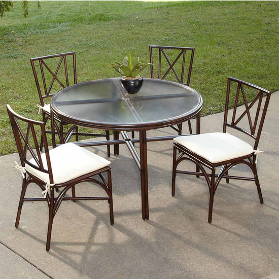 Home Styles Bimini Jim 5-Pc. Dining Set with Table & 4 Chairs