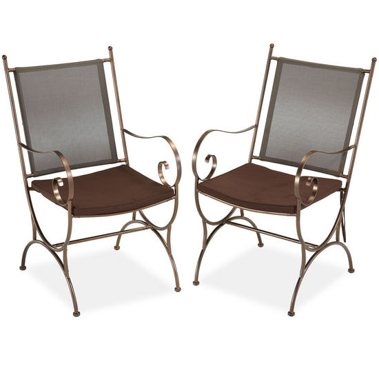 Home Styles Sundance Dining Chair Pair w/ Cushion