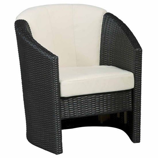 Home Styles Riviera Barrel Accent Chair