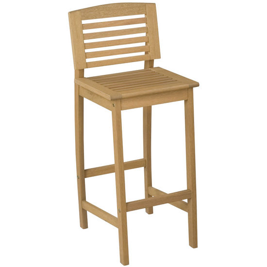 Home Styles Bali Hai Bar Stool, Natural finish