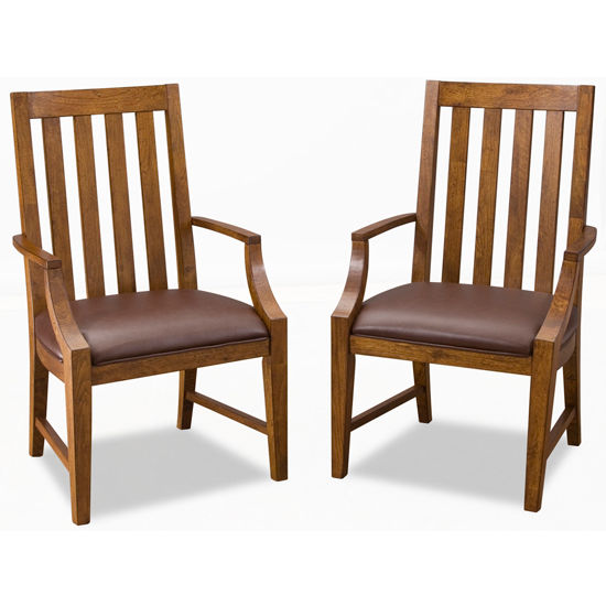 Home Styles Arts & Crafts Oak Game Chair, Pair