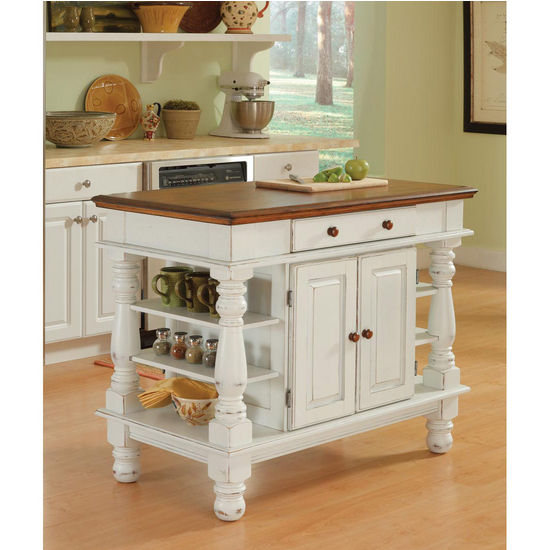 home styles kitchen island home styles americana kitchen island in antique white 4306