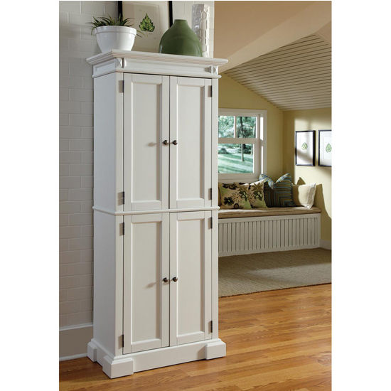 Home Styles Americana Pantry, White