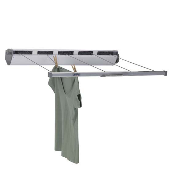 Household Essentials Retractable 5 Line Dryer Extends To 34' 170 Ft Drying Space