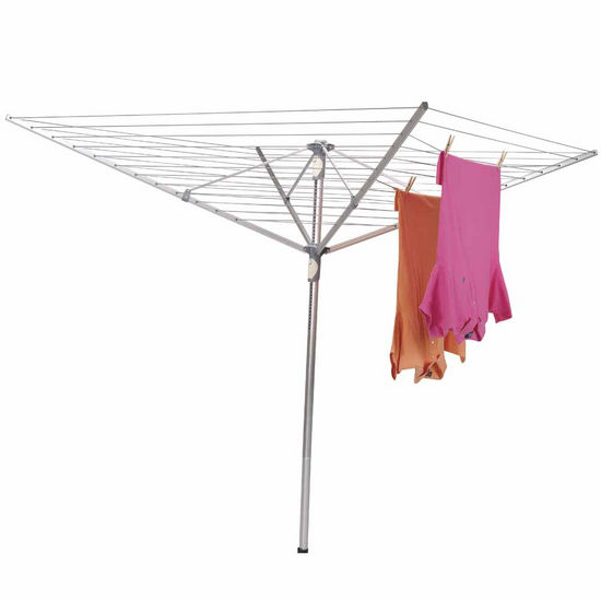 Household Essentials Umbrella Dryer/Dual Height, Aluminum