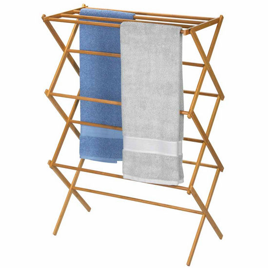 Household Essentials Bamboo Laundry Dryer