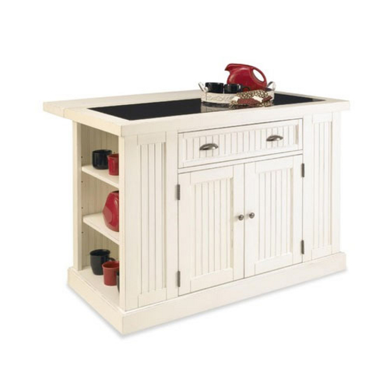 Home Styles Nantucket Kitchen Island & Two Stools with