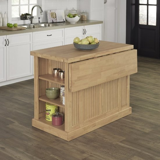 Kitchen Island Table Home Depot: 48'' Wide Nantucket Natural Kitchen Island In Maple With