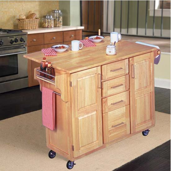 Home Styles Napa Rolling Kitchen Cart