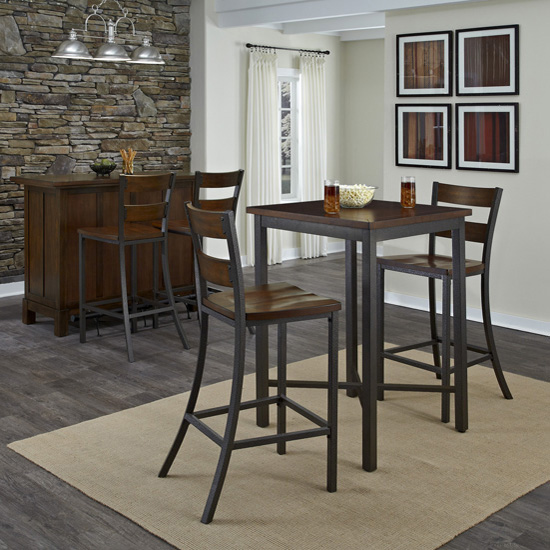 Home Styles #HS-5411-359, Cabin Creek 3-Piece Bistro Table