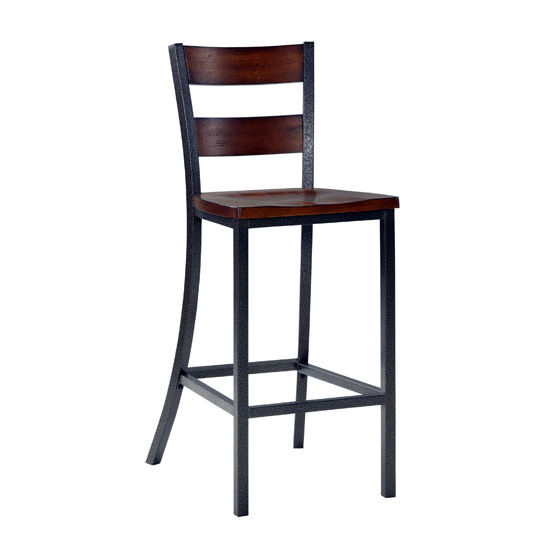 "Home Styles Cabin Creek Bar Stool, 18"" W x 21"" D x 45-1/2"" H"