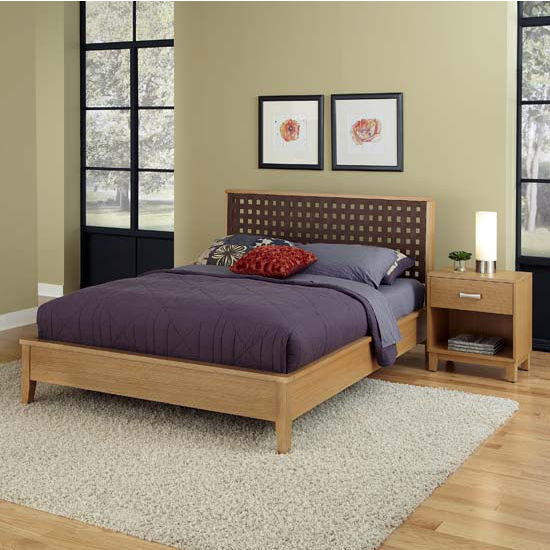 Bedroom furniture the rave highlighted blonde night stand for Blonde bedroom furniture