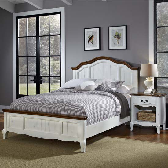 Bedroom Furniture, The French Countryside Oak And Rubbed