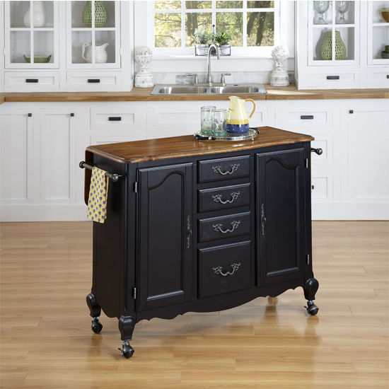 Home Styles The French Countryside Oak And Rubbed Black
