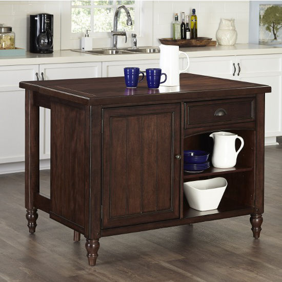Home Styles Country Comfort Kitchen Island With Column