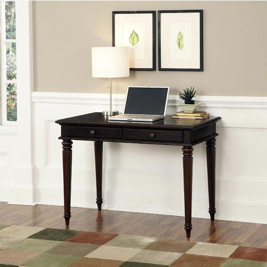 Home Styles Bermuda Espresso Student Desk, 42'' W x 24'' D x 30-1/4'' H