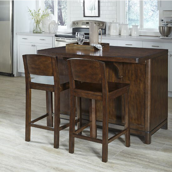 Home Styles Crescent Hill Kitchen Island