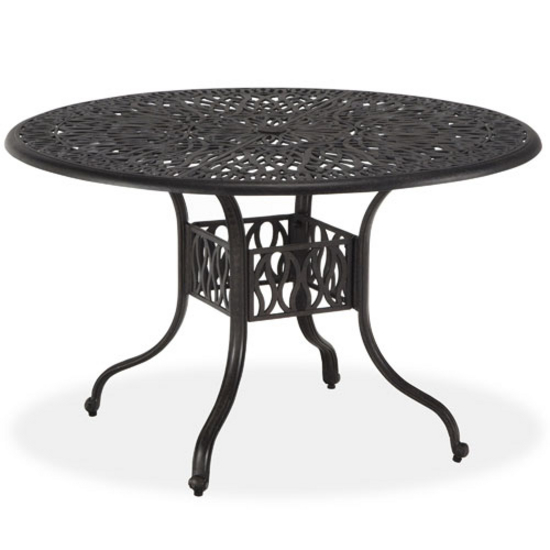 Patio Dining Table Floral Blossom Round Dining Table By Home