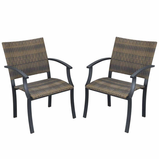 Newport Arm Chairs, Pair