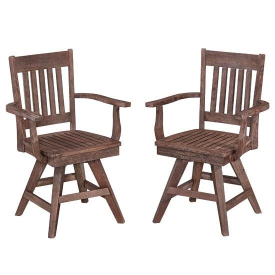 Morocco Swivel Chair, Set of 2