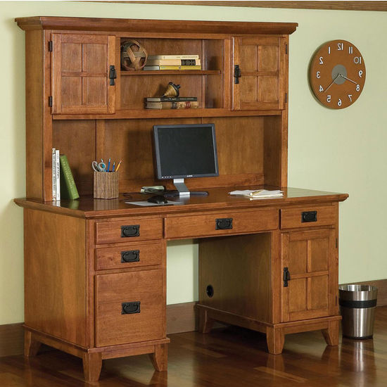 Arts & Crafts Desk/Hutch Combo