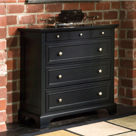 Ebony Bedford Drawer Chest by Home Styles