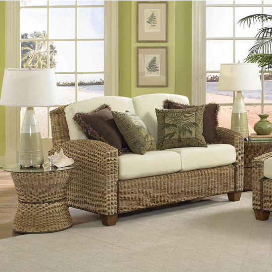 Home Styles Cabana Banana Love Seat