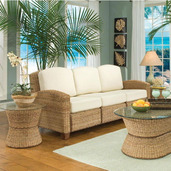 Home Styles Cabana Banana 3 Section Sofa