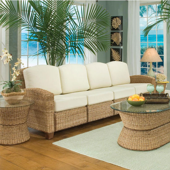 Home Styles Cabana Banana 4 Section Sofa