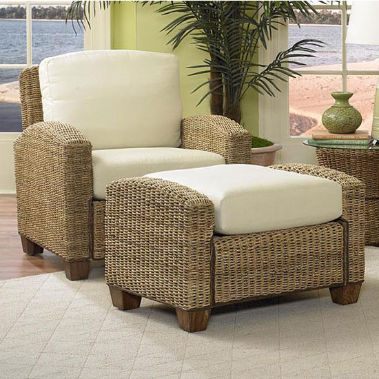 Home Styles Cabana Banana Chair and Ottoman