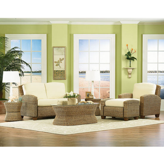 Home Styles Cabana Banana Chair, Ottoman & Love Seat
