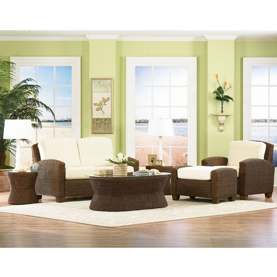 Home Styles Cabana Banana Chair, Ottoman & Love Seat