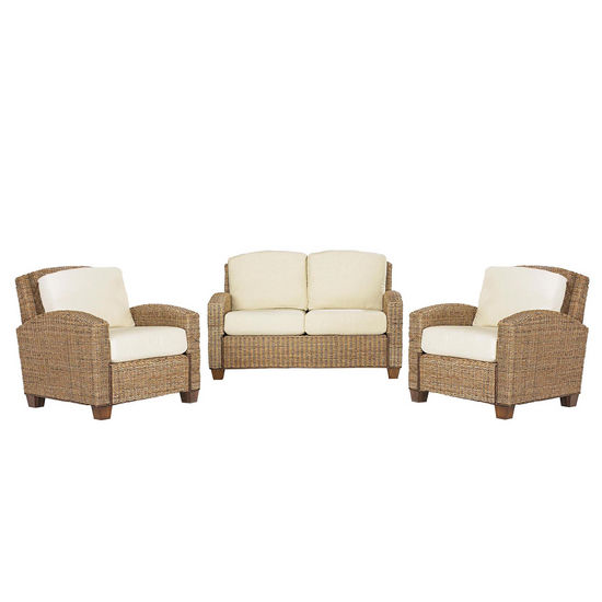 Cabana Banana 2 Chairs and Love Seat