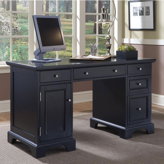 Home Styles Bedford Pedestal Desk