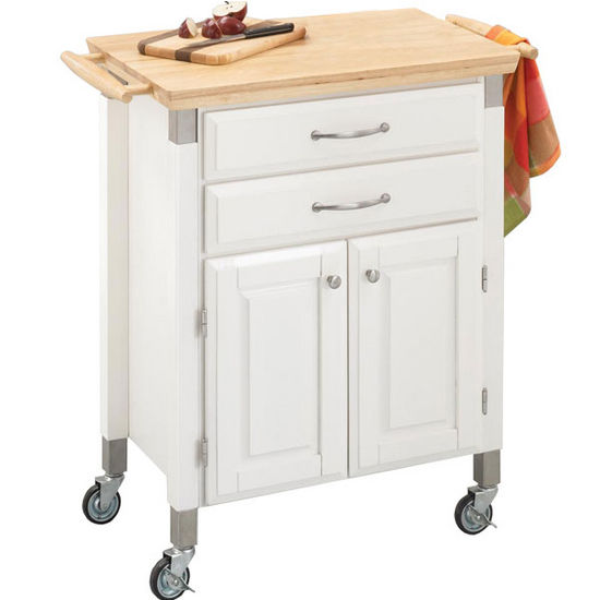 Home Styles Dolly Madison Prep Serve Kitchen Cart
