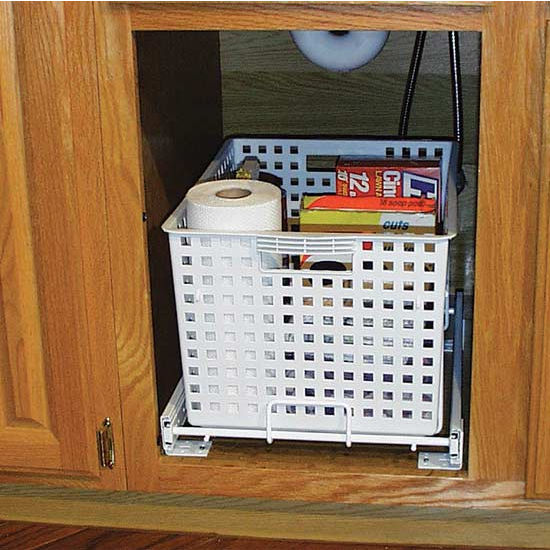 Rev A Shelf Pull Out Laundry Hamper And Utility Basket For