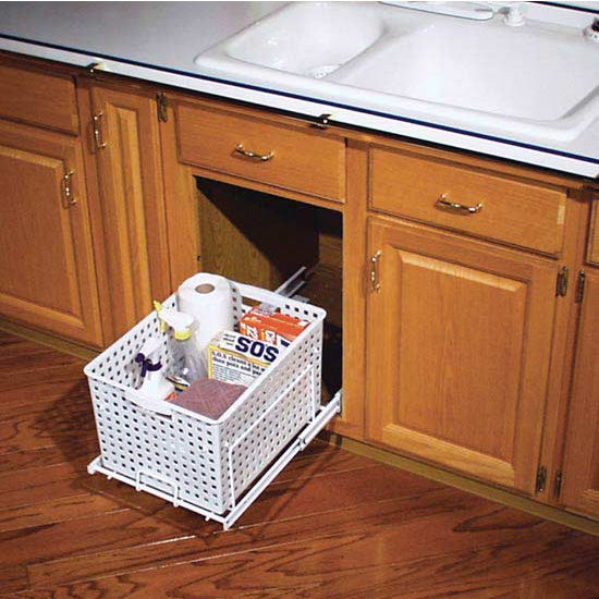 Rev-A-Shelf Pull-Out Laundry Hamper and Utility Basket for ...