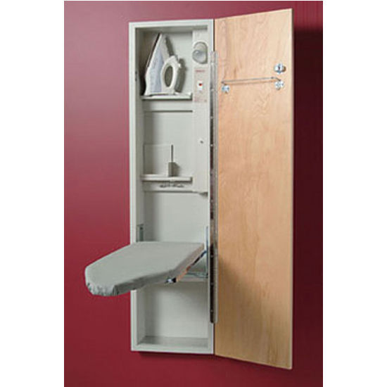 Wall Mounted Ironing Board Cabinet Pictures To Pin On
