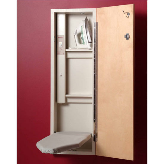 Ironing Center w/ Birch door